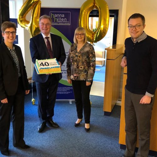 HANNA HILLEN FINANCIAL SERVICES CELEBRATES 40 YEARS IN BUSINESS