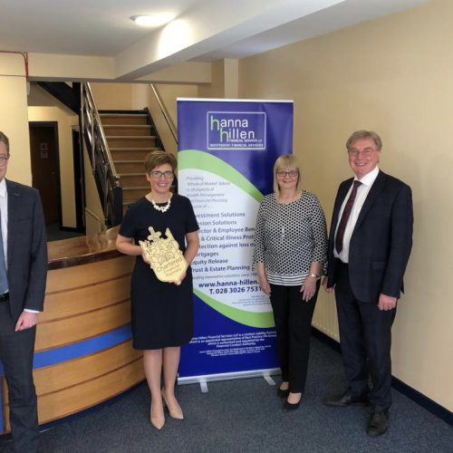 HANNA HILLEN FINANCIAL SERVICES AWARDED PRESTIGIOUS ACCOLODATE OF CORPORATE CHARTERED STATUS